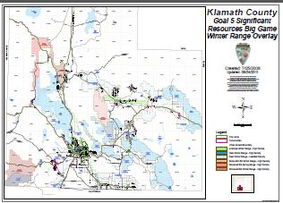 Land Use Maps Klamath County Or