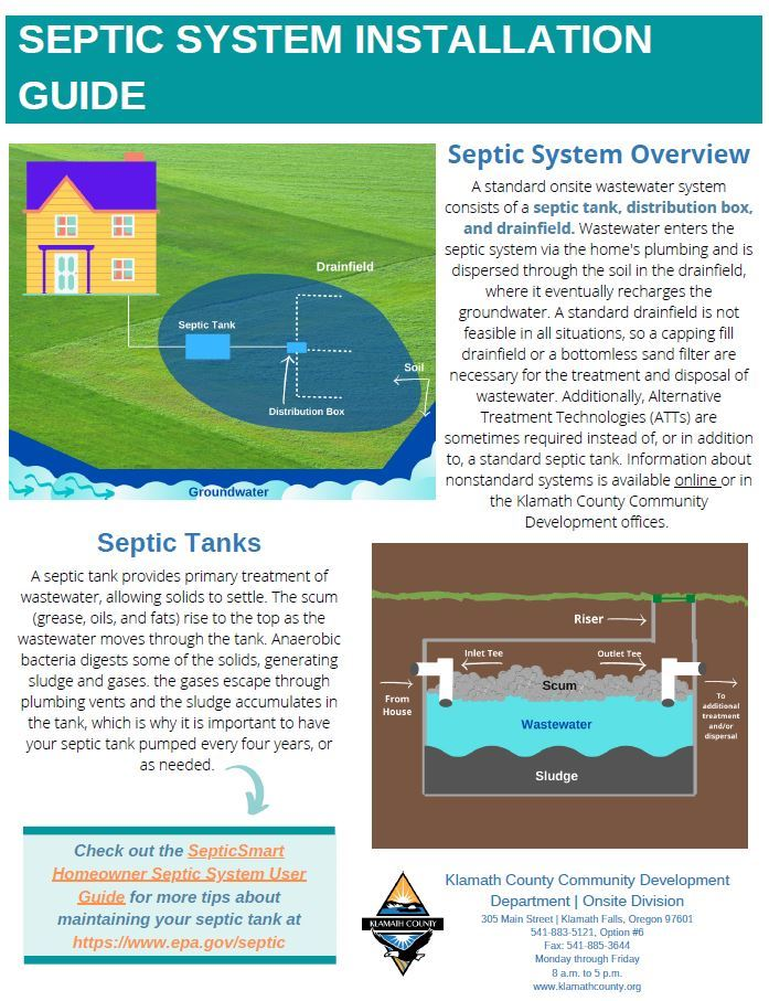 Septic System Installation Guide Opens in new window
