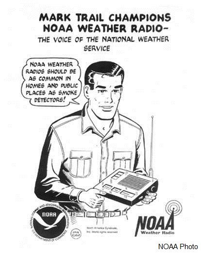NOAA Weather Radio Cartoon